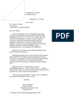 US Department of Justice Civil Rights Division - Letter - tal093