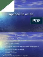Curs Apendicita