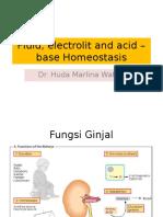 Fluid, Electrolit & Acid-base Homeostasis