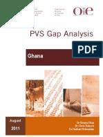 PVSGapAnalysis Report Ghana1
