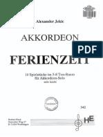 Akkordeon Ferienzeit, Alexander Jekic