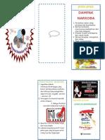 Lampiran 6. 2. Leaflet Bahaya Narkoba