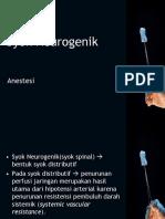 Syok-Neurogenik