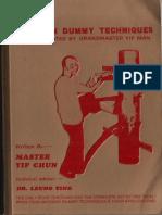Wing Tsun Dummy Techniques - Leung Ting