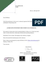 Invitation Conference ATOZ