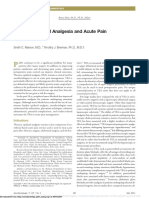 Epidural Thoracic Anesthesia