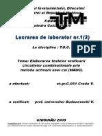 Lucrarea de laborator 1 [TSC]