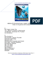 Absolute Playstation Codes - PS2CHEATS