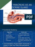 Pancreas as an Endocrine Gland