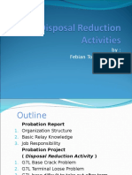 Disposal Reduction Activities