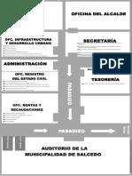 Croquis Municipalidad de Salcedo