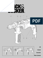Black & Decker Drill KR600CRE