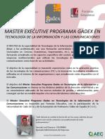 Tecnología de La Información y Las Comunicaciones GADEX