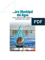 Libro Municipal Agua