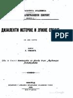 BELIĆ, Dijalekti-Istočne-i-Južne-Srbije.pdf