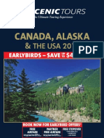 Canada ,Alaska and US Scenic Tours