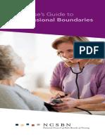 A Nurse Guide to Professional Boundaries