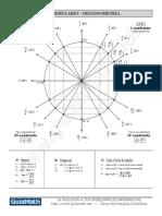 Formulario de Trigonometría y Triángulos