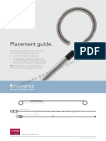 Insertion Guide of metallic stents