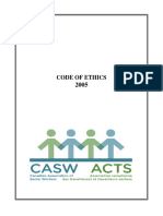 casw code of ethics