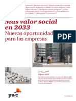 Más valor social en 2033