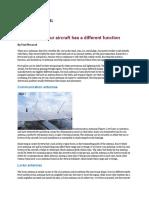 Aircraft Antennas