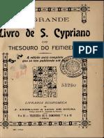 Sao Cipriano O Grande Livro