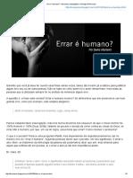 Errar é humano.pdf
