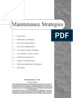 1. Maintenance Strategies