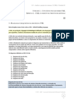 Análise e Projeto de Sistemas 2 (Uml) Unidade01