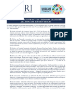 Covri sobre la Firma Del Acuerdo de Paris