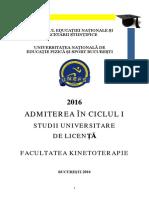 Brosura Admitere Licenta Kt 2016