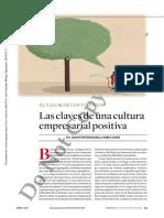 Las Claves de Una Cultura Empresarial Positiva (2)