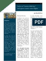 "Lettre au ""Corriere della Sera"" sur la guerre contre le christianisme"