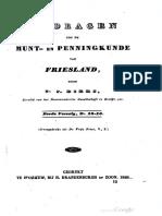 Bijdragen tot de munt- en penningkunde van Friesland. Derde vervolg