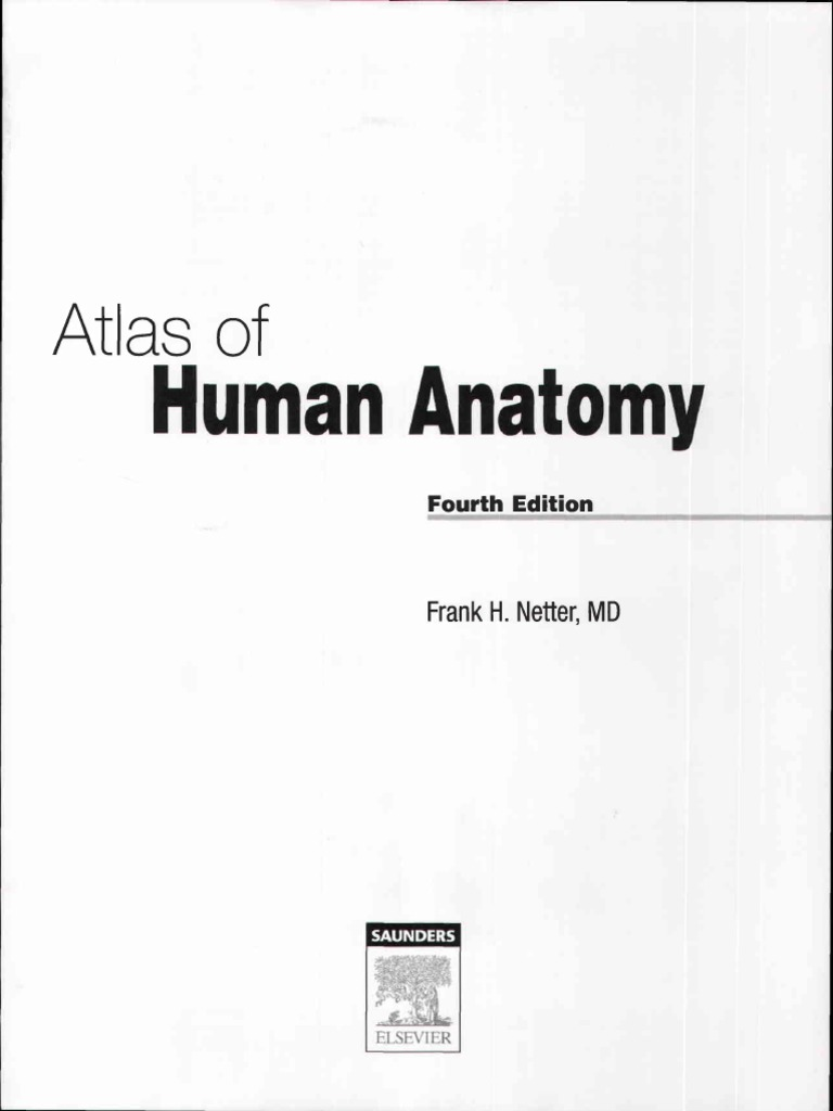 Fantastic Netter Atlas Of Human Anatomy 4th Edition Picture ...