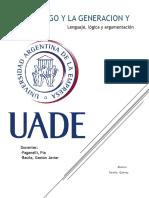 Ensayo Final - UADE - Leng Log y Argum