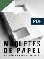 MAQUETES PAPEL