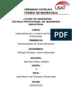 Generalidades de Automatización