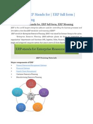 SAP HCM and SAP HR Training Tutorials | Enterprise Resource