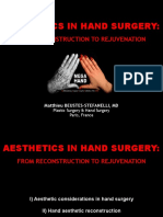 Aesthetics in Hand Surgery