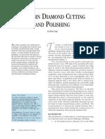 Modern Diamond Cutting and Polishing