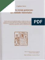 Capítulo Sexto Historia Rerum Gestarum Las Ciudades Historiadas