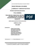 Proyecto Proyeccion Social Sos Huancayo 1