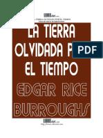 Burroughs, Edgar Rice - La Tierra Olvidada Por El Tiempo