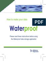 Waterproof Booklet