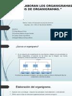 Como Se Elaboran Los Organigramas y Tipos