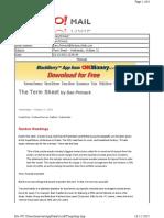 10-21-2010 Term Sheet -- Wednesday, October 213