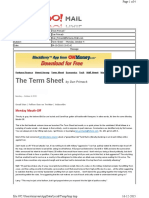 10-04-2010 Term Sheet - - Monday, October 416