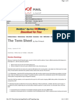 10-01-2010 Term Sheet - - Thursday, Sept. 3017